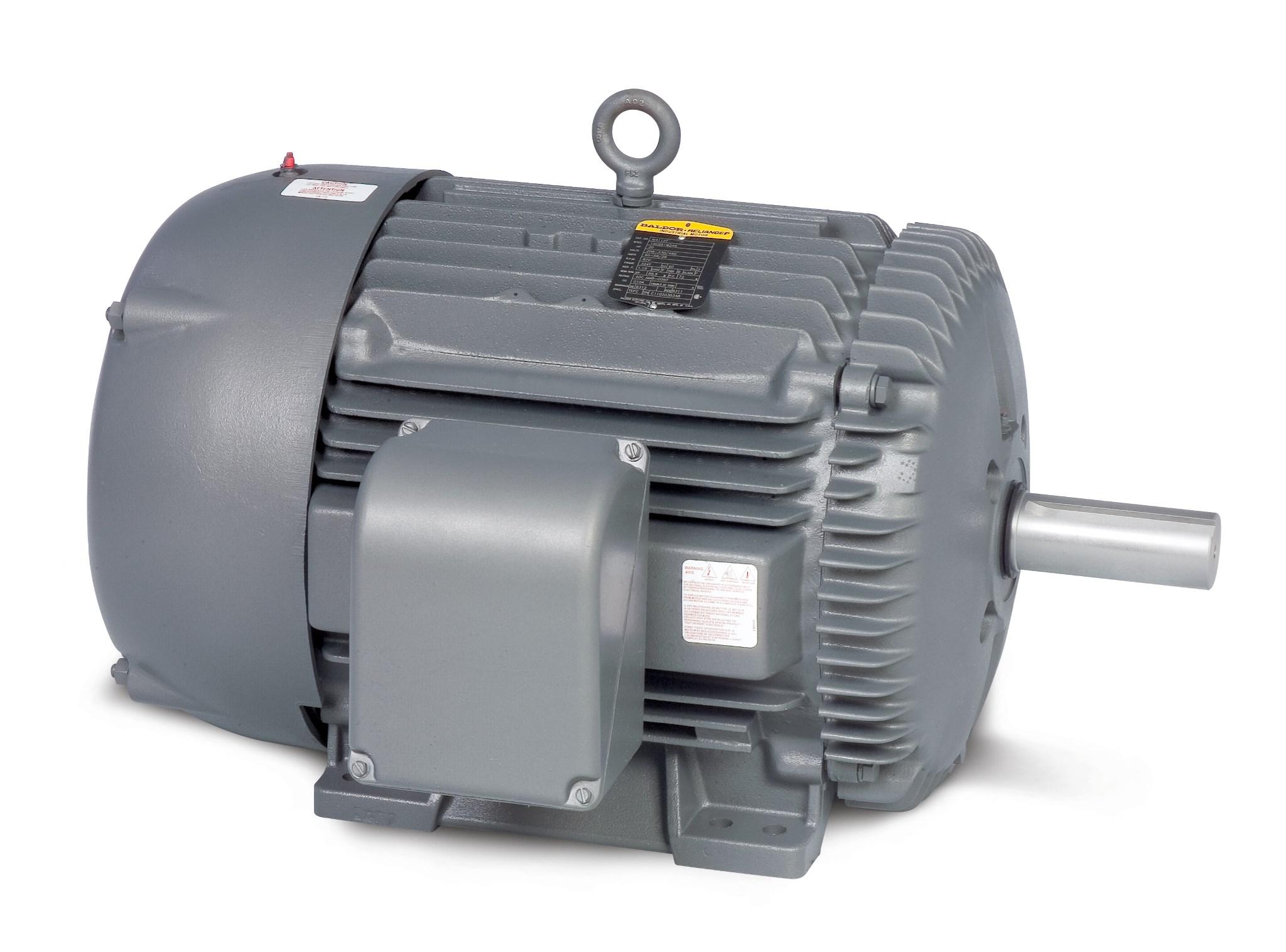 Baldor 2-Speed Motors - Frame Size 184T
