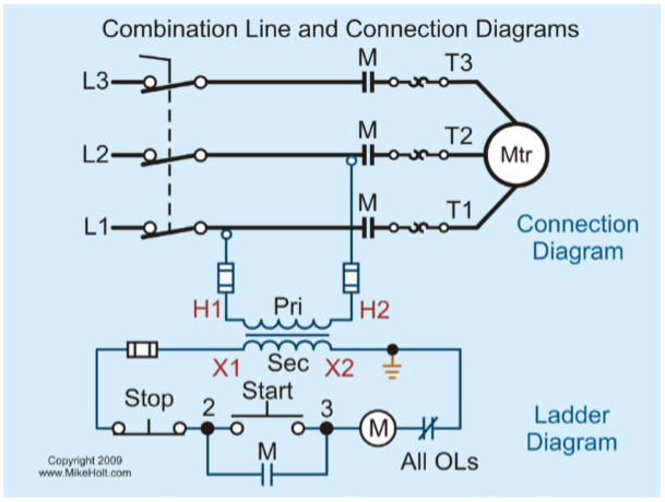 Figure 1-7 Combination Line and Connection Diagrams